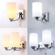 interior sconce lighting. Image Is Loading Modern-Glass-LED-Light-Wall-Sconce-Lamp-Lighting- Interior Sconce Lighting