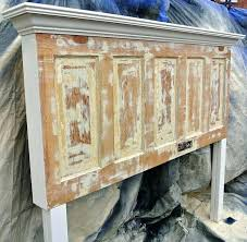 old door bed frame fresh best decor headboards images on antique headboard king lovely is better headboard out of a door antique