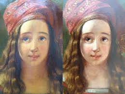 oil paintings restoration work at berkshire bespoke picture framing restoring oil paintings