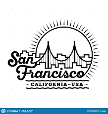 Logo Designer San Francisco San Francisco Design Template Vector And Illustration