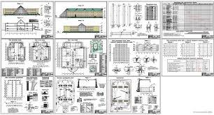 Курсовые и дипломные проекты общественное здание скачать dwg  Дипломный проект Детский развлекательный комплекс 48 х 54 м