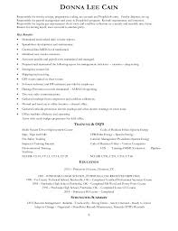 Donna Lee Chart Cain Donna L Resume Oil And Gas Professional Aug 2015
