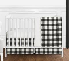 black and white rustic woodland flannel