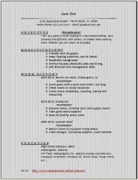 Housekeeping Resume Sample Fresh Housekeeping Resume 0d Wallpapers