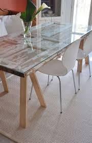 dining table made from old door home chair table