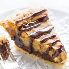chocolate chip pie. Modren Chip Throughout Chocolate Chip Pie L