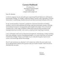 Cover Letter Temlate Master Teacher Cover Letter Template Cover Letter