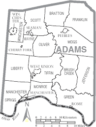 file map of adams county ohio with municipal and township labels Monroe County Ohio Road Map file map of adams county ohio with municipal and township labels png road map of monroe county ohio