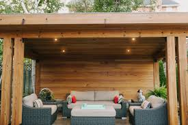 outdoor living structure