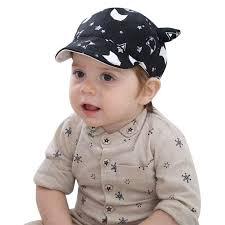 <b>Children Kids</b> Baby <b>Hat Cartoon</b> Print <b>Spring</b> Summer