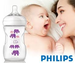 Avent Decorated Bottles PHILIPS AVENT NATURAL DECORATED BOTTLE 100ml GIRL SCF100100 61