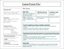 sample career plan career development plan template how to propose in culture