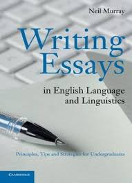 writing essays in english language and linguistics principles tips and strategies for undergraduates