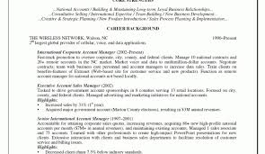 National Account Manager Resume Cover Letter Corptaxco Com