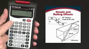 How To Calculate Simple And Rolling Offsets Pipe Trades Pro