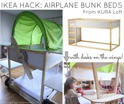 Ikea Bunk Beds With Desk Img Painted Green How To Decorate Your ...