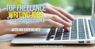 lance writing jobs for beginners no experience