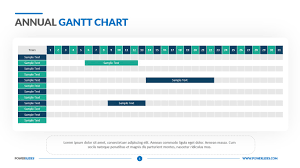 Annual Gantt Chart Template Download Now Easy To Edit