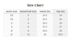 Aerie Size Chart We Know Victorias Secret American Eagle Panties
