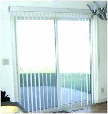 french patio doors with blinds between glass and screen