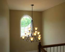 chandelier for foyer large lantern chandelier foyer foyer chandelier installation