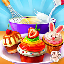 Cupcake Shop Kids Cooking Game By Rock Paper Scissors Games