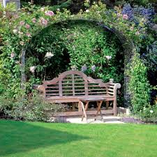 garden rose arch garden arch large bespoke metal rose arch and bench