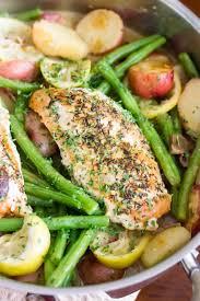 Cooking Light Meal Kits Freshrealm Weeknight Chicken Lemon Skillet Dinner Kendras Treats
