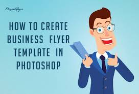 How To Make A Business Flyer Tutorial How To Create A Business Flyer Template In