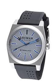 amazon com locman amazon exclusive men s 201slkvl quartz stealth locman amazon exclusive men s 201slkvl quartz stealth sports watch