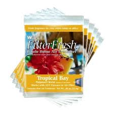Filter Fresh Tropical Bay Air Fresheners For Air Filters Pack