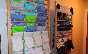 diy wall mounted clothes drying rack