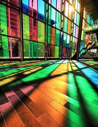 image result for stained glass windows using translucent paint