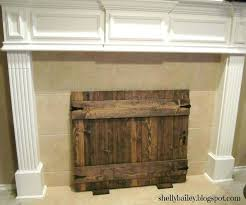 fireplace insert draft stopper chimney home depot homemade faux handmade cover gate wood burning inducer