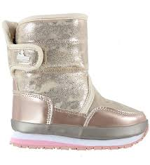 Rubber Duck Winter Boots Snowjogger Rose Gold