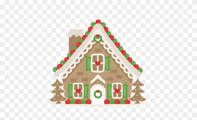 cute gingerbread house clipart. Gingerbread House Svg Scrapbook Cut File Cute Clipart Christmas Cottage Png Inside