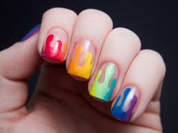 Trippy Drippy | Chalkboard Nails | Nail Art Blog