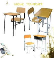 student desk and chair set mfo adjule height student desk and chair with black pedestal frame