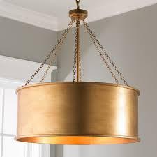 pendant lights remarkable large drum pendant metal drum chandelier gold drum pendant light marvellous