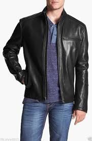 soft lambskin men s genuine leather jacket customized male designer biker k770 for item 319231