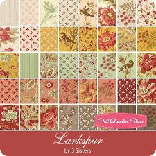 13 best love from 3 sisters images on Pinterest | Sisters, Couture ... & Larkspur Half Yard Bundle 3 Sisters for Moda Fabrics - Larkspur - Moda  Fabrics | Fat Adamdwight.com