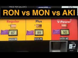 Does Europe Have Higher Octane Gas Ron Vs Mon Vs Aki