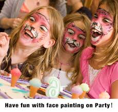 face paint set unitystar non toxic fda compliant face painting set with 14 paints 2 glitters bounus 2 brushes 40 stencils for kids parties