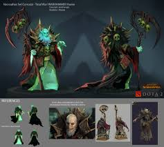 my necrophos set concept vampire counts lord for totalwar
