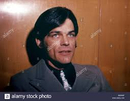 BJ THOMAS US pop singer in 1970 when his big hit was Raindrops Keep Stock  Photo - Alamy