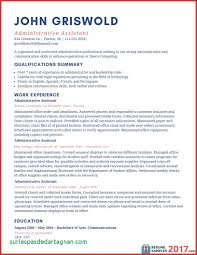 Resume Sample Administrative Assistant Resumes Executive assistant Resume Examples Administrative asptur 27