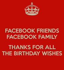 Thank You Quotes For Birthday Wishes On Facebook Daily