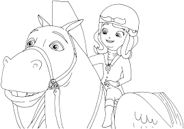 Small Picture Sofia The First Coloring Pages Sofia Page