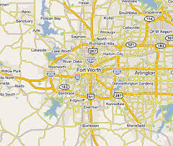 fort worth map my blog Map Fort Worth Texas map and fort worth texas satellite image updated map fort worth texas area