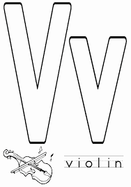Inside Out Free Awesome Letter V Coloring Pages Free Printable